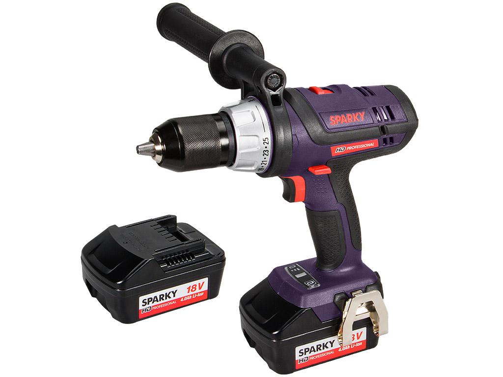 BUR2 18Li HD, 18V Li-ion Combi Drill | SPARKY.eu Hd Tools
