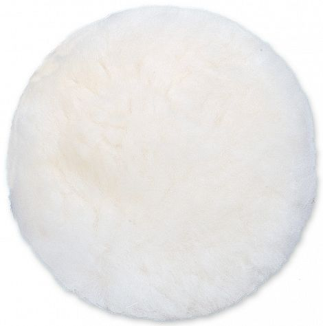 Artificial wool polishing bonnet